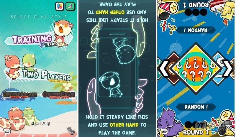适合和宝贝一起玩的——10 in 1 双人同屏小游戏 Duel Otters